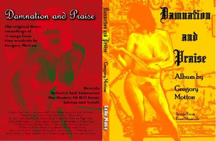 Damnation and Praise The Whore of Livadia by Gregory Motton Levellers' Press
